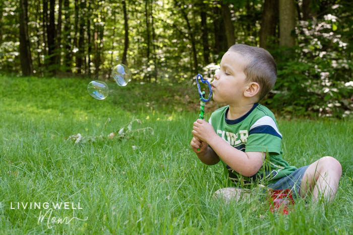 blowing best homemade bubbles