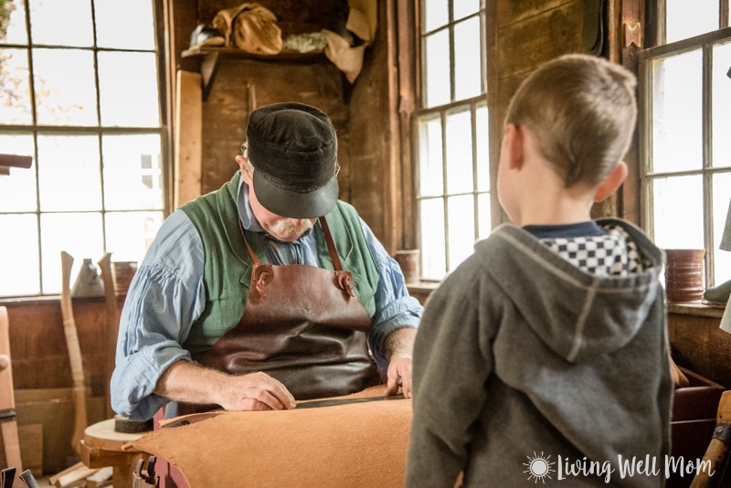 Old Sturbridge Village - shoemaker