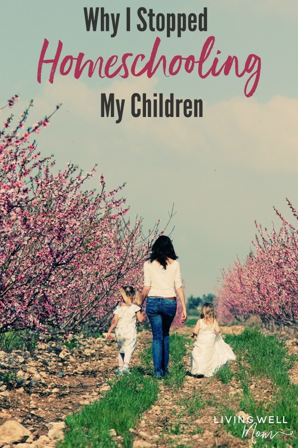 why I stopped homeschooling my children