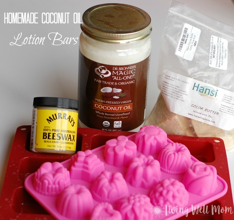 Try this easy recipe for homemade coconut oil lotion