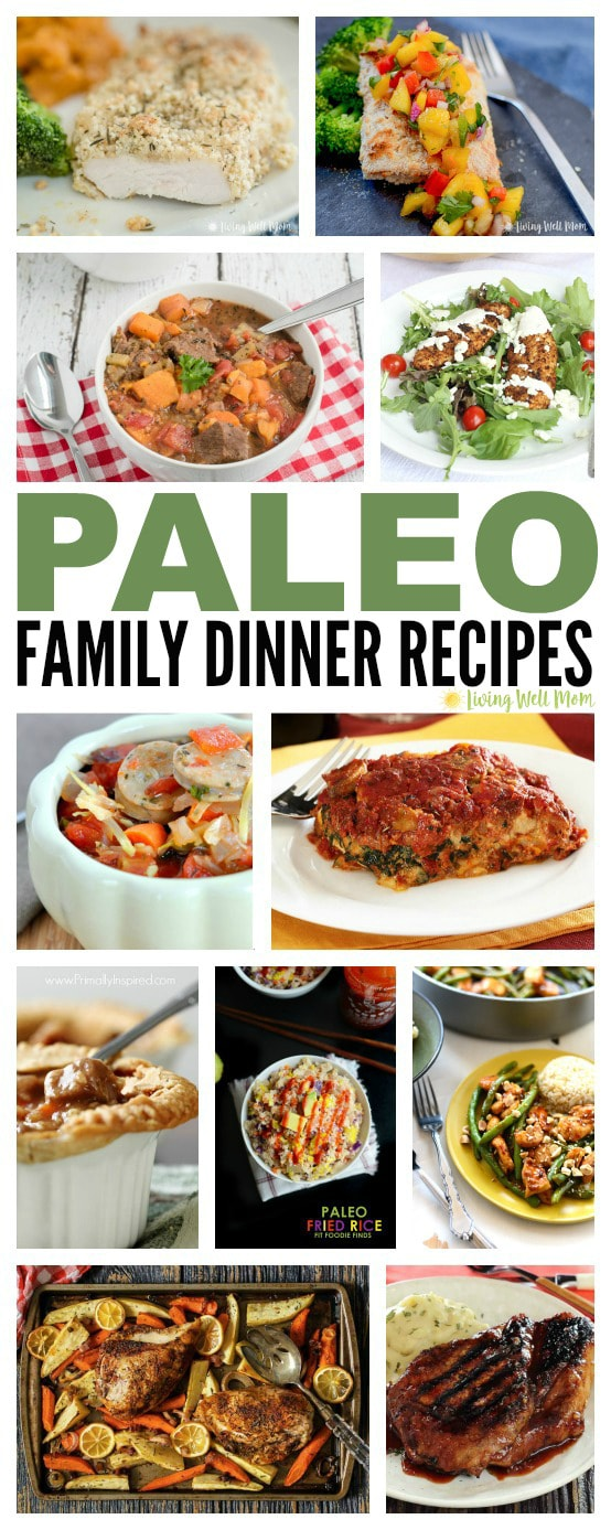 Need some inspiration for healthy TASTY family dinners? Here's 30+ Paleo Family Dinner recipes that kids and adults alike will love! From beef to chicken and even meatless, there's something for everyone.