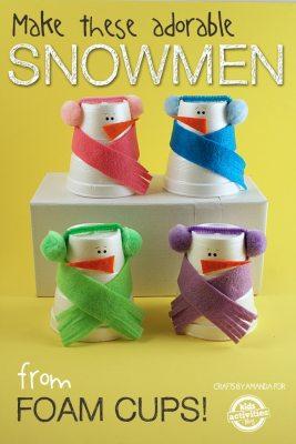 25 Simple Winter Crafts And Activities For Preschoolers