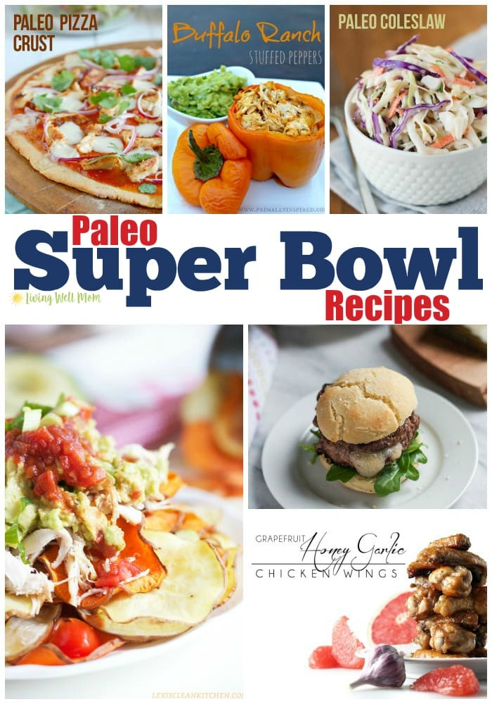 From Buffalo dip to loaded nachos, chicken wings and burger sliders, even Paleo pizza, there's no shortage of options for Paleo Super Bowl recipes here!