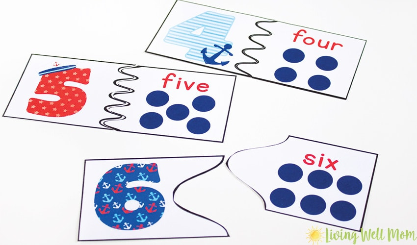 photograph relating to Number Puzzles Printable titled Quantity Level of popularity Puzzles - No cost Printables