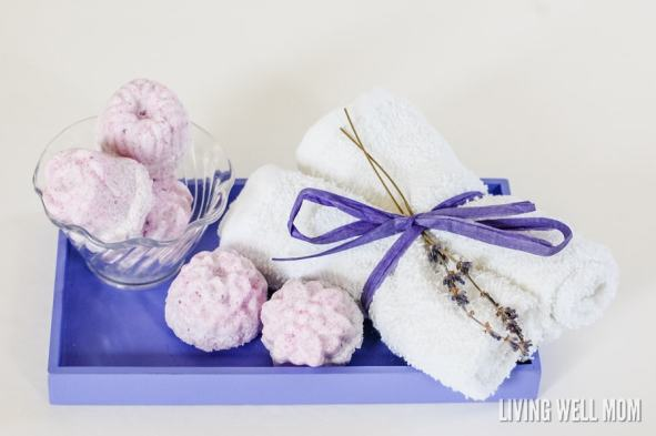 Need a little relaxation time? Pamper yourself with these easy-to-make homemade bath bombs. All-natural and infused with essential oils, these bath bombs are made with ingredients you probably already have and are great for relaxing. They're perfect homemade gifts too! Get the easy instructions here: