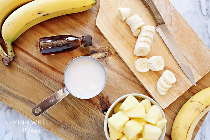 banana pineapple coconut dole whip ingredients
