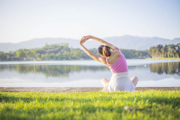 stretching - simple stress release solutions for busy moms