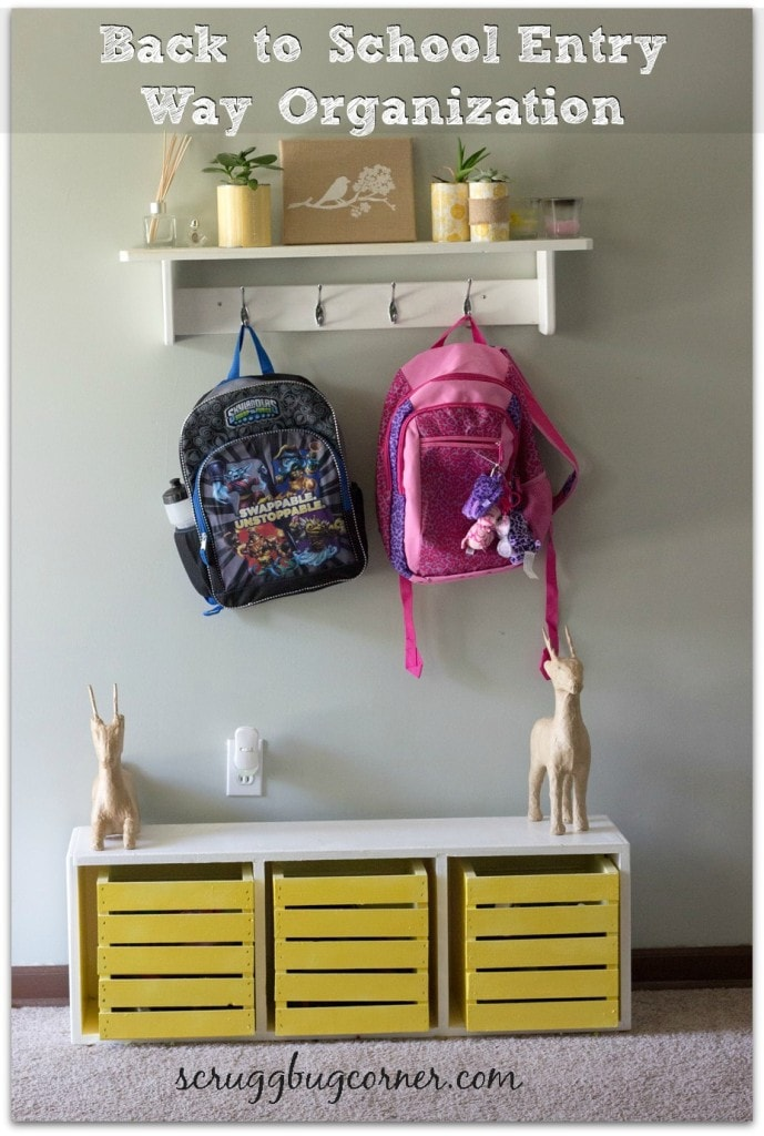 Our Back to School Landing zone!