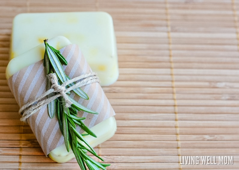 Soap-making is easier than you thought! Here's how to make homemade Rosemary Citrus