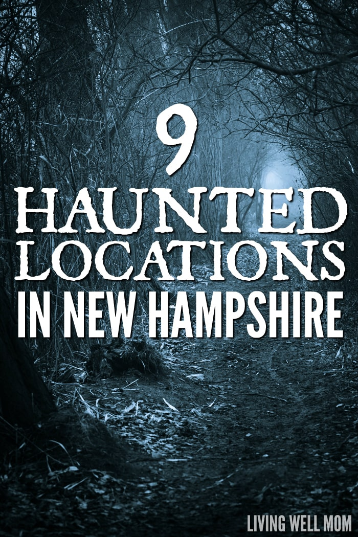 Haunted in New Hampshire - if you're a fan of spook, you're going to love this list of 9 Haunted Locations in New Hampshire. From real claims of haunted houses to haunted attractions to visit during Halloween, you don't want to miss this!