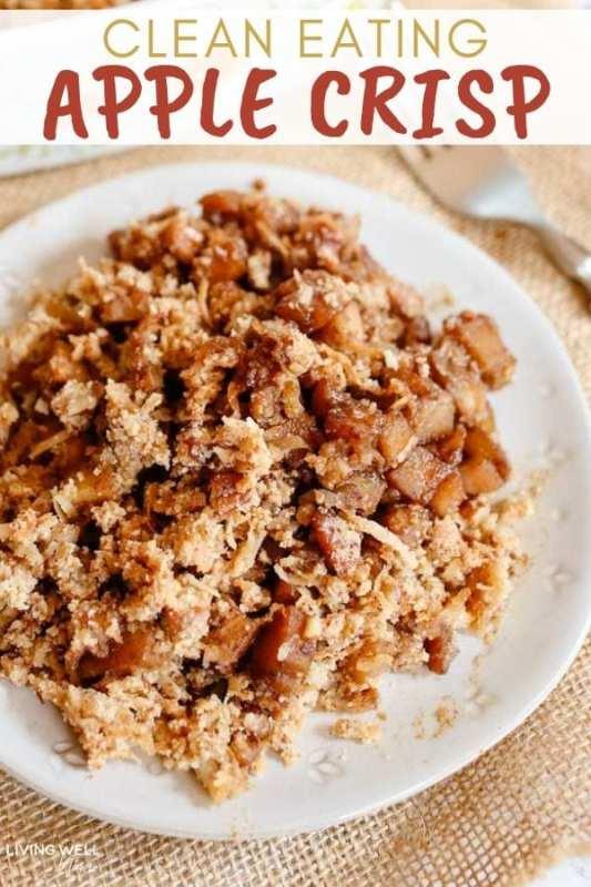 Paleo Apple Pecan Crisp (Vegan, Gluten-Free, Dairy-Free, Grain-Free)