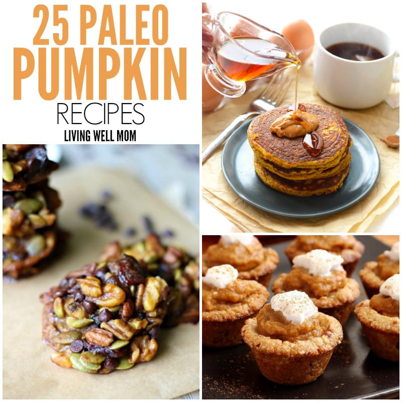 25 Paleo Pumpkin Recipes - From breakfast pumpkin pancakes and french toast to pumpkin and turkey meatballs, there's even a recipe for pumpkin ice cream and pumpkin brownies here. All deliciously grain-free, refined sugar-free Paleo!