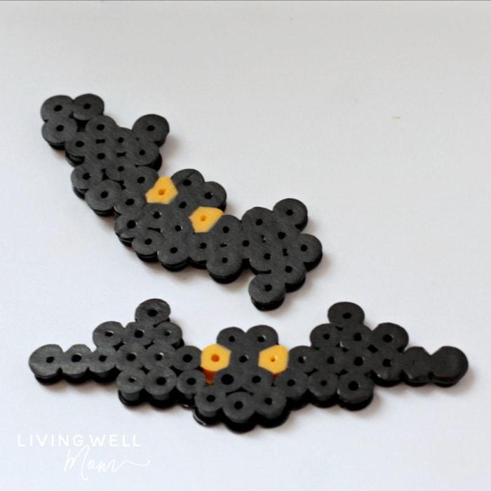 halloween bat perler beads