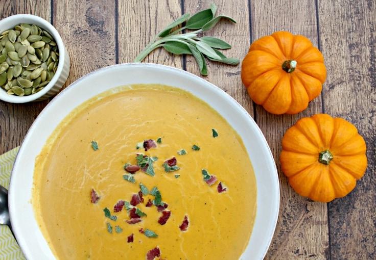 Savory Paleo Pumpkin Soup