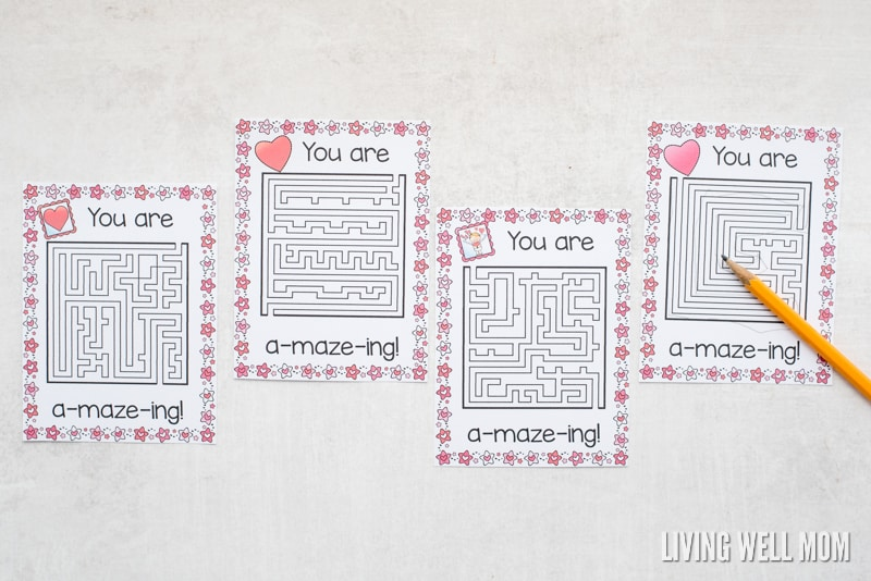 image about Printable Valentines Craft named Totally free Printable \