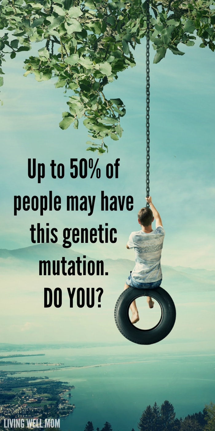Up to 50% of the population may have the genetic mutation MTHFR. Do you? It's especially common with autism. Here's what you need to know, how it can affect your health, and what you can do about it.