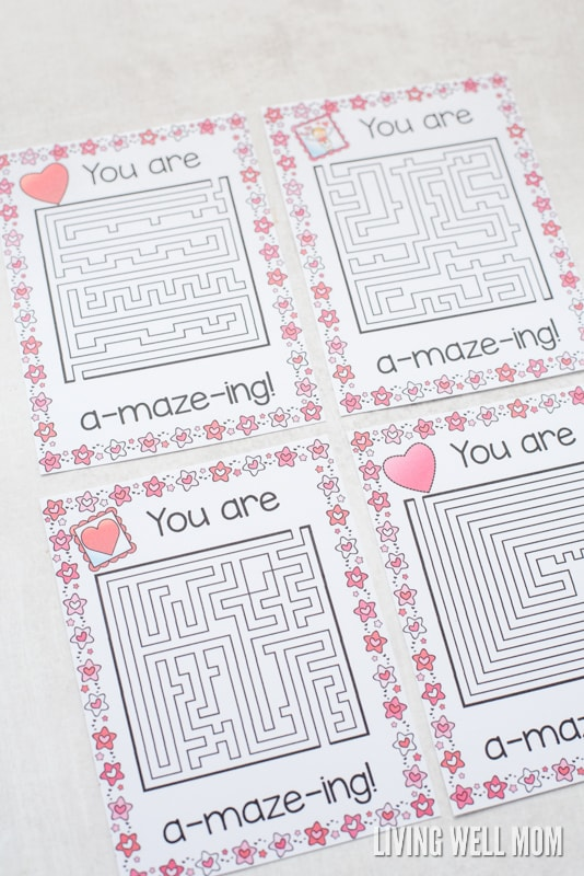 photo about Printable Valentines Craft identified as Absolutely free Printable \
