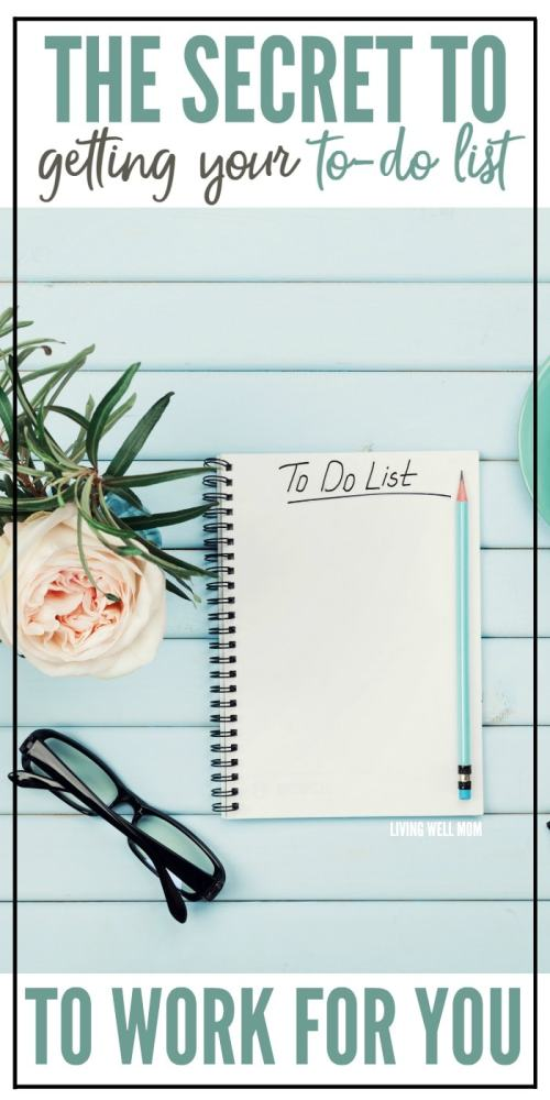 The secret to getting your to-do list to work for you. If you've ever struggled with the frustration of not completing your to-do list, these 3 simple steps + insightful secret will change your life.
