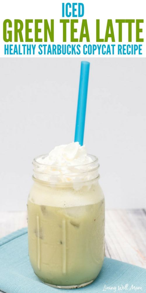Love Starbucks iced green tea latte, but dislike the price and excess sugar? Try this light and creamy Healthy Copycat Iced Green Tea Latte recipe! With matcha green tea for a natural energy boost, almond milk, and natural sweetener, this homemade version takes just 2 minutes to whip up and is dairy-free, soy-free, refined sugar-free, and far cheaper!