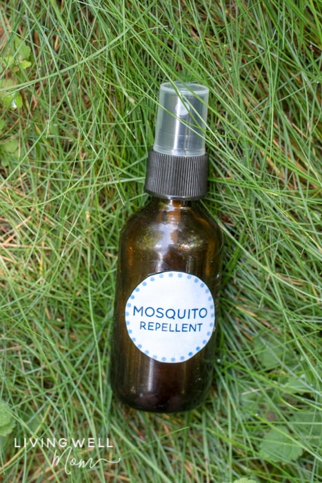 Homemade Mosquito Repellent Spray with Essential Oils + Roll-on