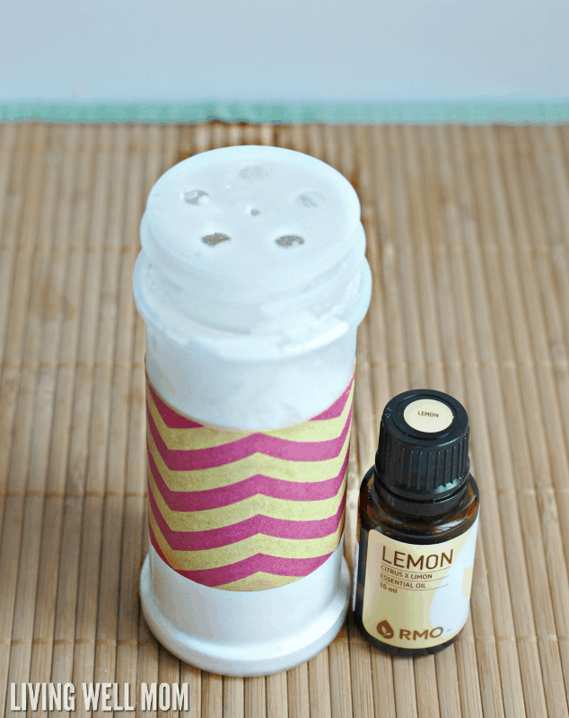 Easy DIY Fridge Deodorizer with Essential Oils
