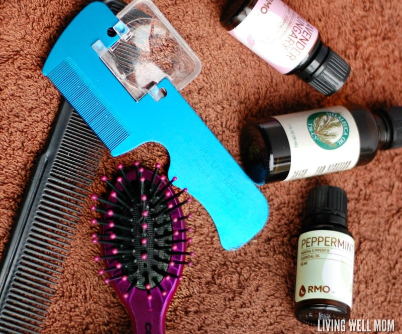This homemade lice prevention spray for kids is easy to make and uses essential oils as a safe, easy, all-natural way to deter those yucky critters.