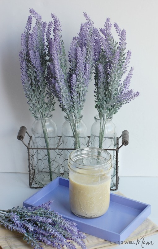 Body butter with lavender