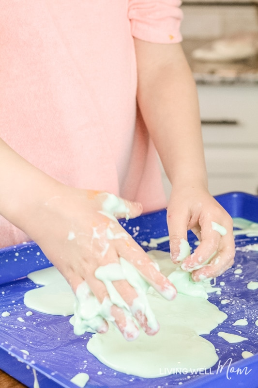 what does oobleck look like