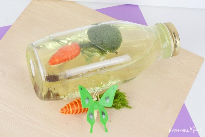spring sensory bottles activity