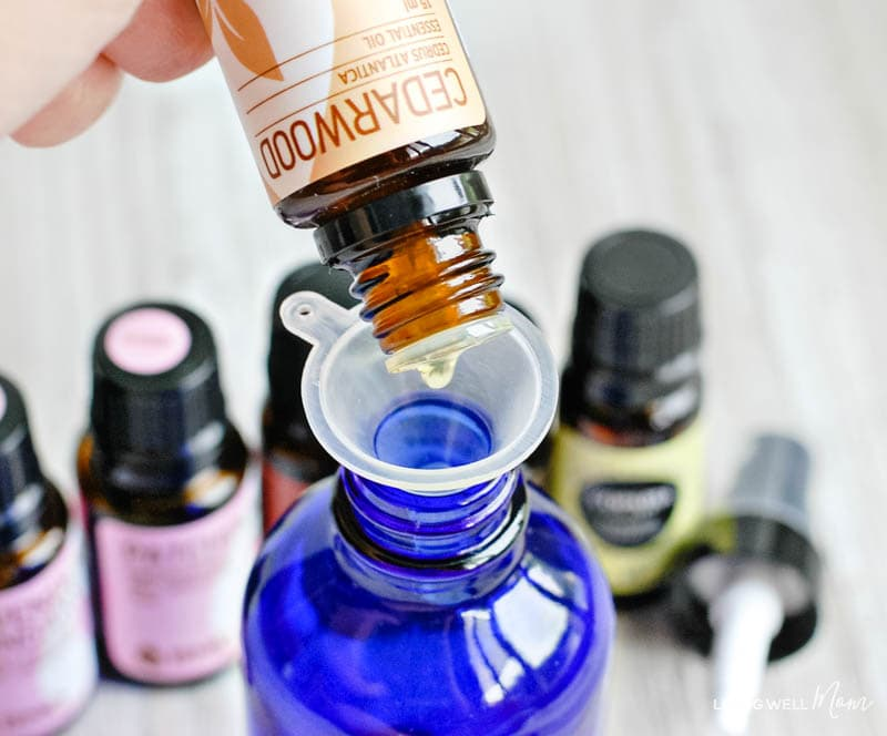 relaxing essential oil spray for kids