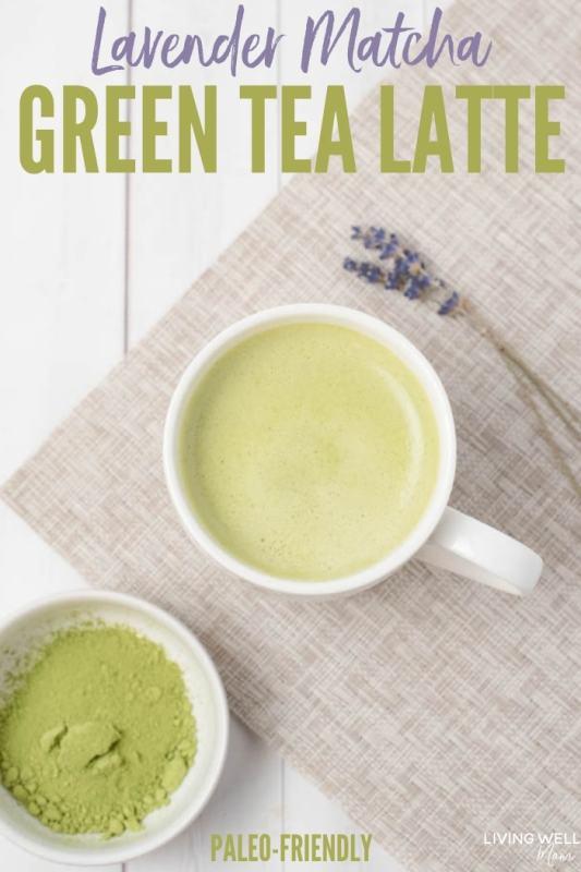 Lavender Matcha Green Tea Latte recipe