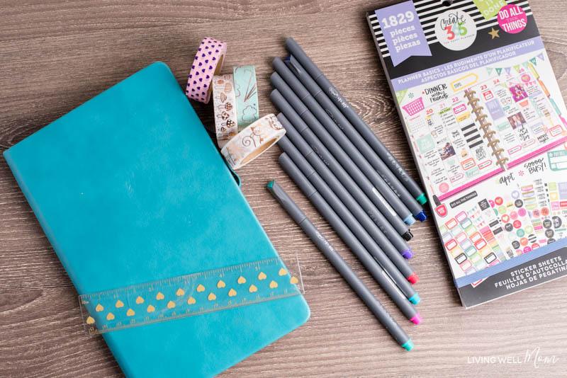 bullet journal supplies