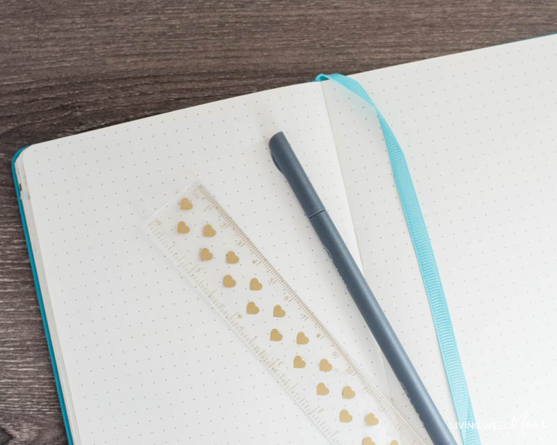 how to bullet journal - getting started ideas