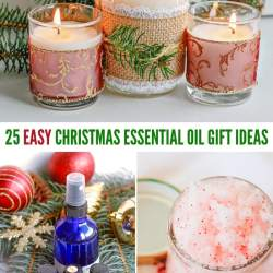 easy Christmas essential oil gift ideas