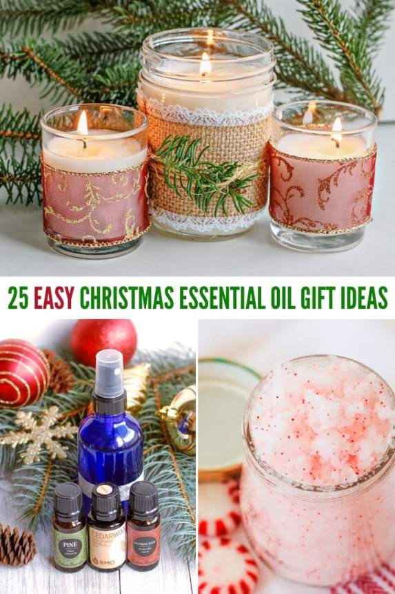 easy Christmas essential oil gift ideas