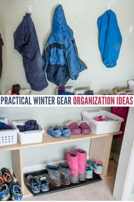 Practical Winter Gear Organization Ideas