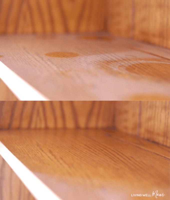 Homemade furniture dusting spray