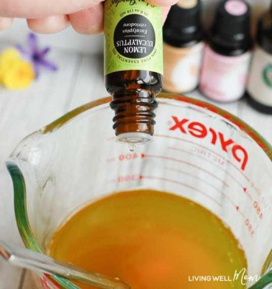 natural bug repellent lemon eucalyptus