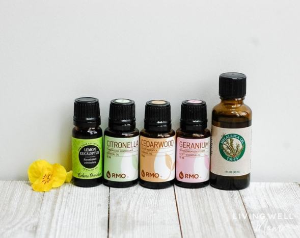 essential oils for DIY insect repellent