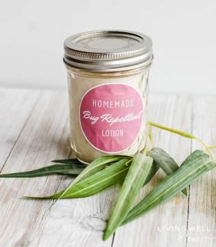 essential oil bug repellent lotion