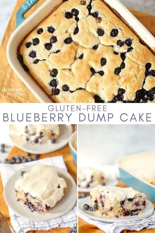 blueberry dump cake with cream cheese