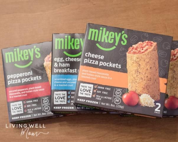 Mikey's gluten-free paleo pockets