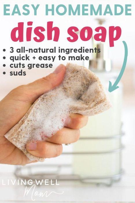 easy homemade dish soap