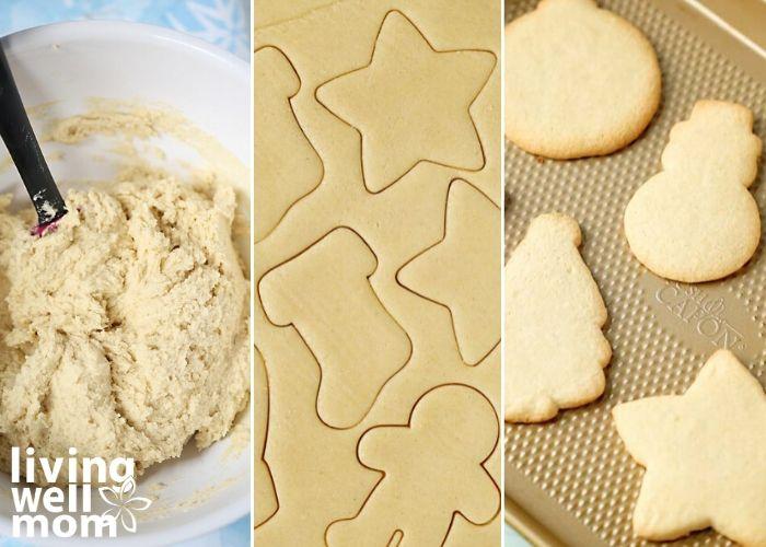 making gluten-free sugar cookies