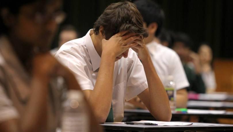 stressed HSC student