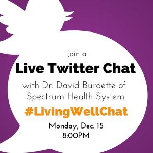 #LivingWellChat, Dec 2014