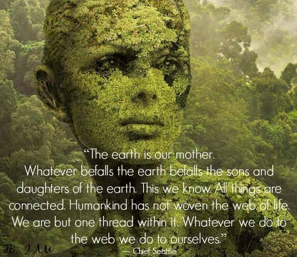 Mother Earth Crying