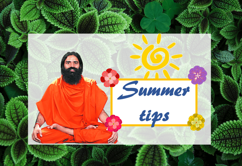 Baba Ramdev's Tips for Beating the Heat