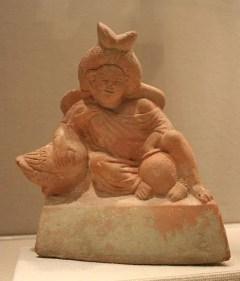 Harpocrates terracotta