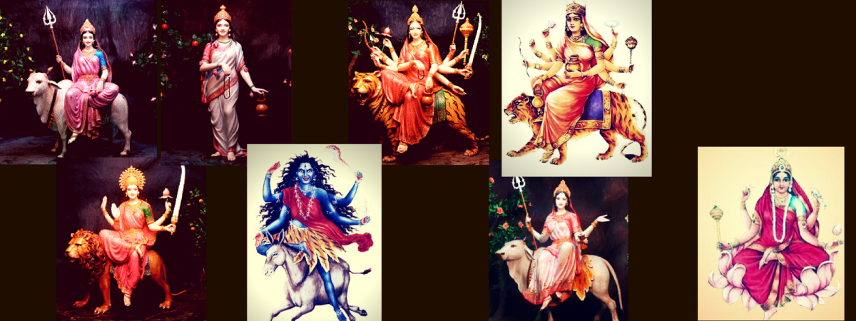 Navdurga: the 9 Forms of Durga